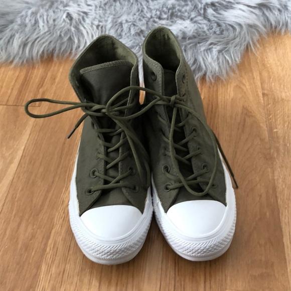 Converse Shoes   Converse Cordura High Top Sneakers   Poshmark